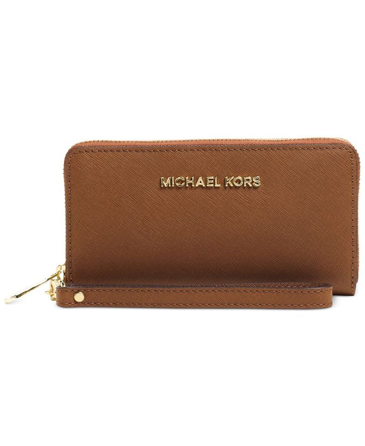 MICHAEL Michael Kors Jet Set Travel Large Coin Multifunction Wallet - Wallets & Wristlets - Handbags & Accessories - Macy's