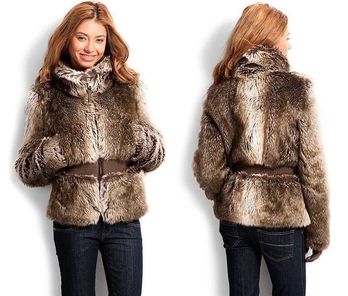 Каталог пальто из искуственного меха