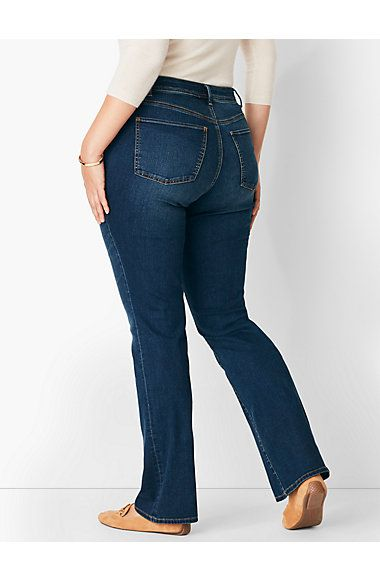b1ed50ebcf6 Plus Size Comfort Stretch High-Rise Barely Boot Jeans - Pioneer Wash ...