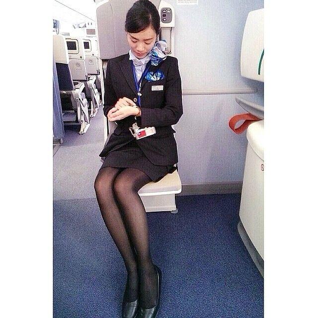 ANA All Nippon Airways Stewardess @airlinescrew ...