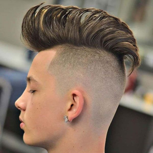 Straight Hair Haircuts High Bald Fade With Thick Textured Top Straight Hairstyles Medium Hair Styles Long Hair Styles