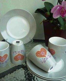 LOVE green tea set