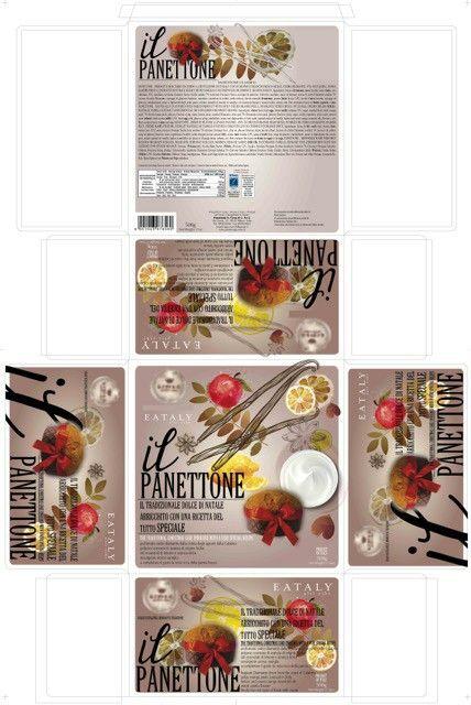 Studio packaging panettone