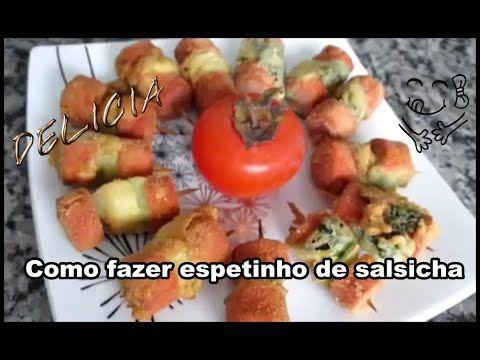 Como fazer espetinho de salsicha? | Luciana Queiróz #LúDelícia #LúTodoDia