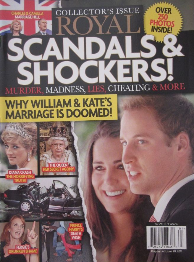 Royal Scandals and Shockers Prince - 2011
