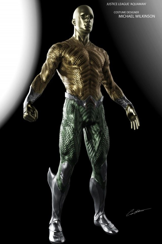 Justice League Concept Art Reveals Zack Snyder S Take On Aquaman S