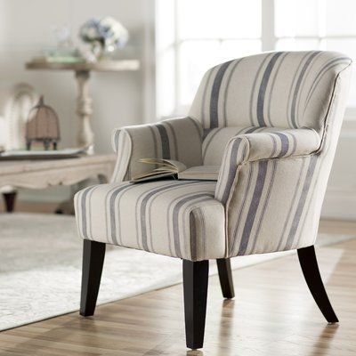 Lark Manor Poisson Armchair Fabric Gray Blue In 2020