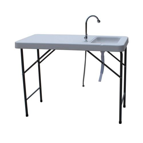 Palm Springs Folding Portable Fish Fillet Cleaning Table W