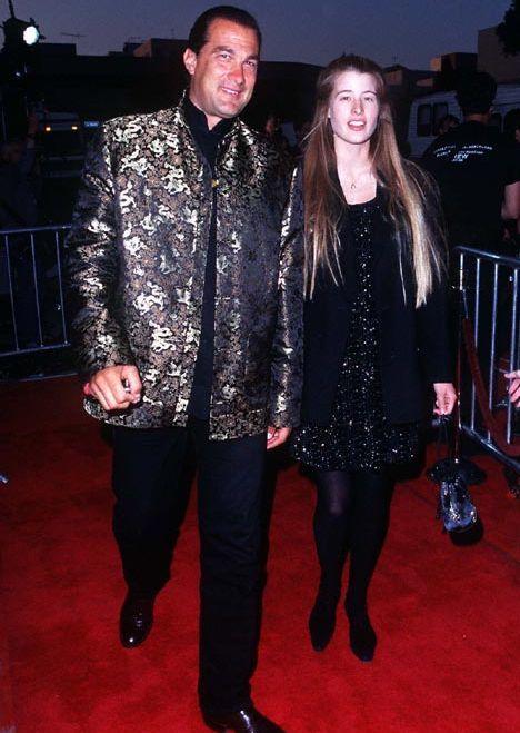Steven Seagal and Adrienne Larussa
