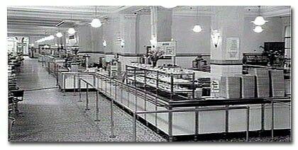 Coles cafeteria Bourke Street