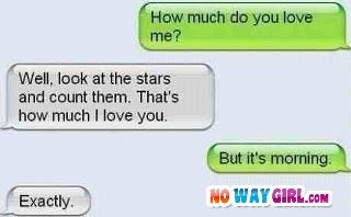 Funny Text Messages. Ouch