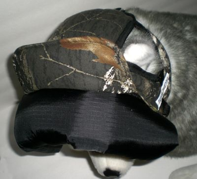 BUMPER HAT protective headgear made for LOGAN (Texas) - 7-year old Boxer/Mastiff mix prone to seizures.  Photo Gallery - Customer BUMPER HAT Headgear - MISSION PAWSABLE (K-9 Apparel by Lena)
