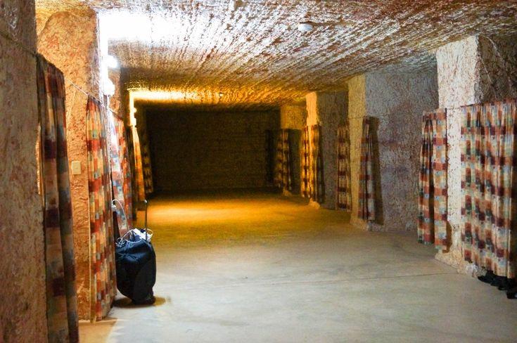 Underground accommodation in Coober Pedy