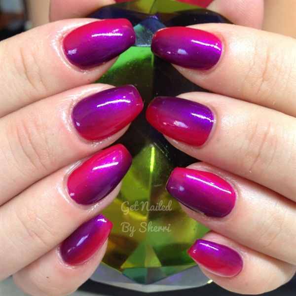 365 Days Of Nail Art March 2014: 194 Best Images About Ombre Nail Art On Pinterest