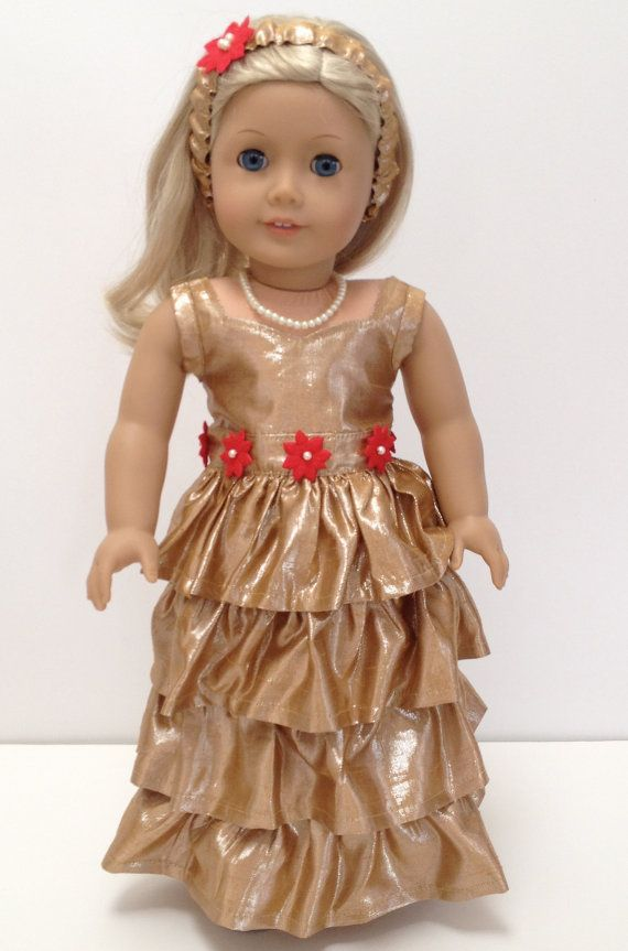 10 Images About American Girl Christmas Dress On