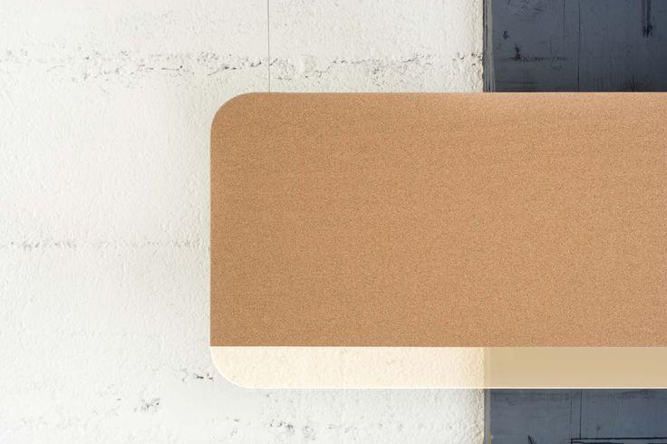 ANDLIGHT - SLAB 150 CORK DETAIL - DESIGN LUKAS PEET 2012