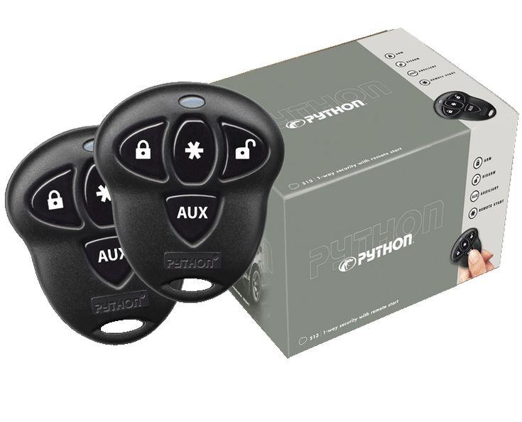 Python 5103P - Remote Car Starter, Car Alarm Keyless Entry Combo
