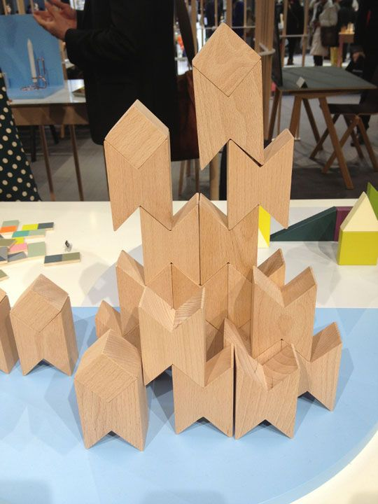 The Danish trend-setters at HAY have released these simple beech 'Twins' Blocks, sold in a set of 16. You can stack them together to create a myriad of shapes and structures.