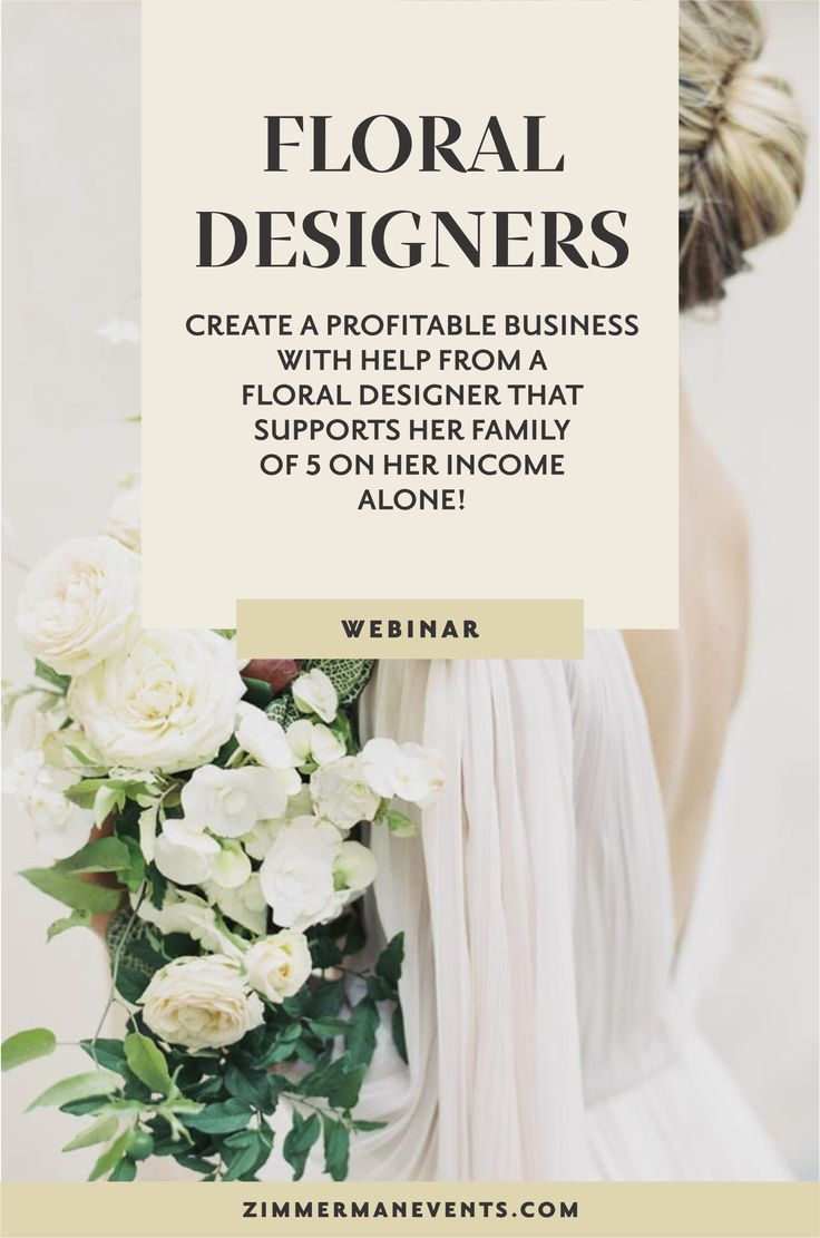 The Business Behind The Blooms A Course For Wedding Floral Designers Teaching You The Business Side Wedding Business Ideas Wedding Business Wedding Planning