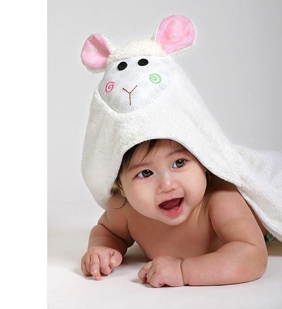 Chłonny ręcznik 'zwierzątko' firmy Zoocchini jest idealny dla każdego dziecka