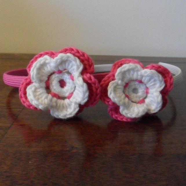 Flower Alice Bands - Set of 2  £5.00
