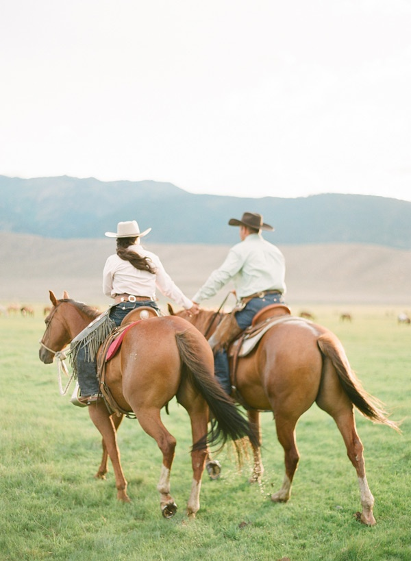 Engagement Love!: A Cowboy Loves a Cowgirl | Photo by ktmerry.com