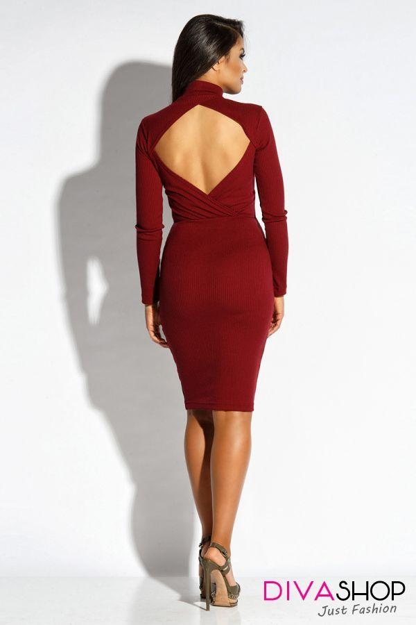 Rochie de ocazie eleganta rosu