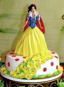 .Snow White Cake