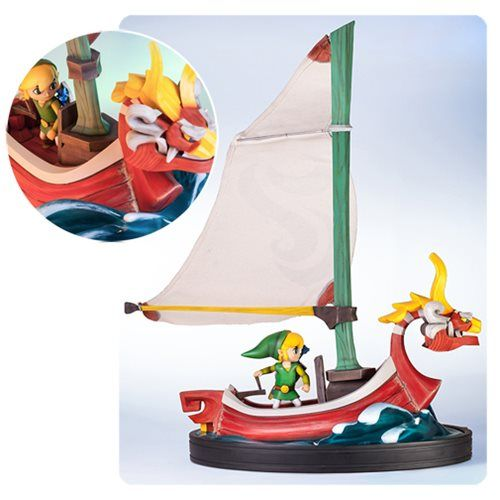 The Legend of Zelda: The Wind Waker Link on the King of Red Lions Statue