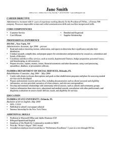 Resume Template Professional Bu0026W