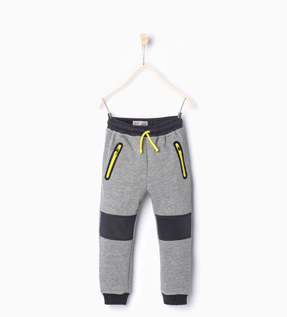 Image 1 of Sporty trousers from Zara