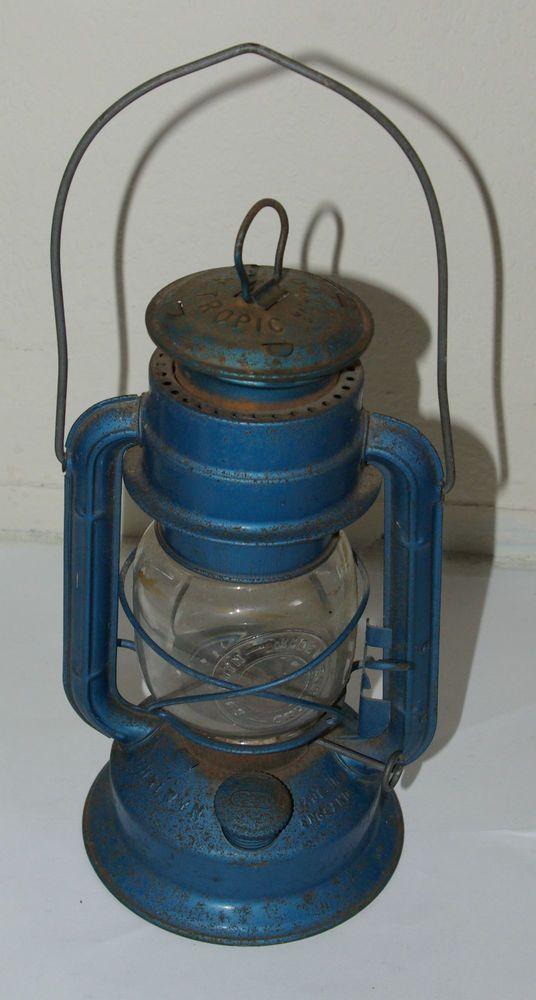 Antique, Vintage style Chalwyn Tropic Oil Lamp Lantern ...