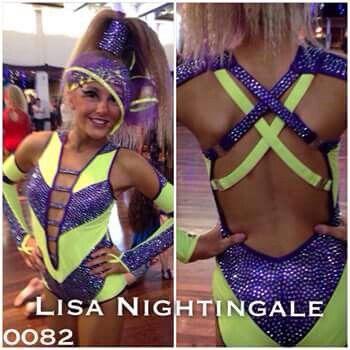 beautiful freestyle costume