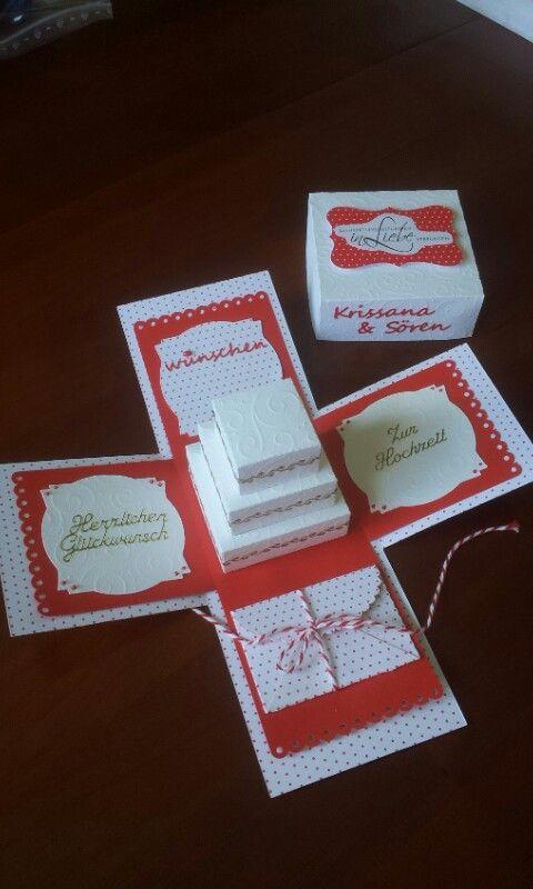 Hochzeitsbox mit Geldkuvert