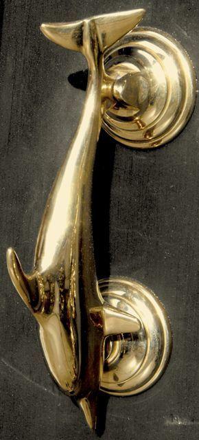 1000 images about door knockers on pinterest red front doors blue doors and brass - Brass dolphin door knocker ...