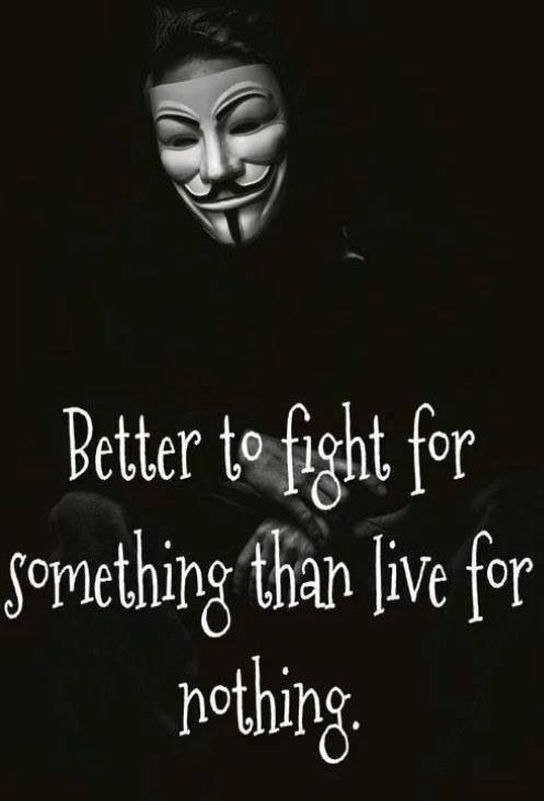 Join The #Anonymous Revolution  love this so much! :)