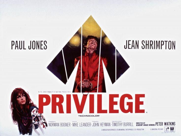 Privilege (1967) poster