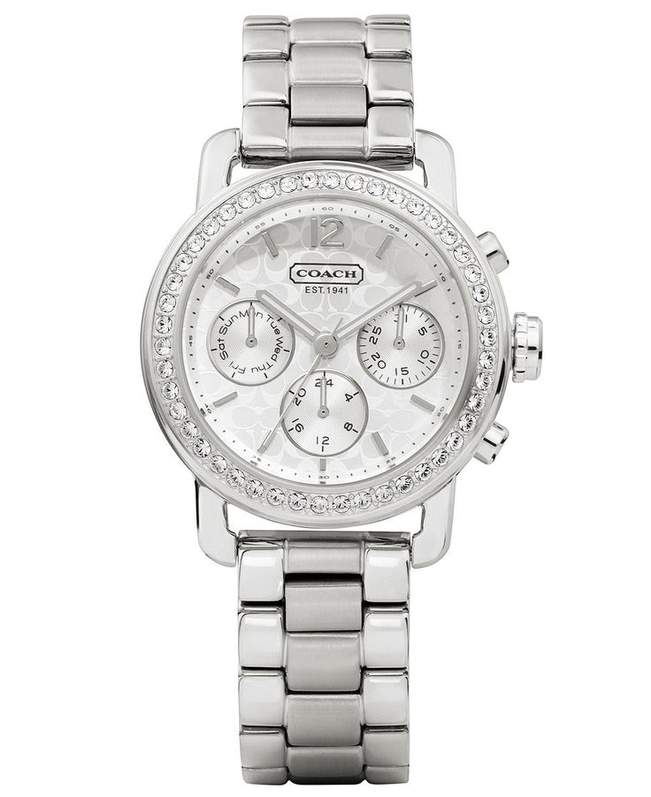 COACH WOMEN'S LEGACY SPORT MINI BRACELET WATCH 36MM 14501882 - Coach Watches - Handbags & Accessories - Macy's