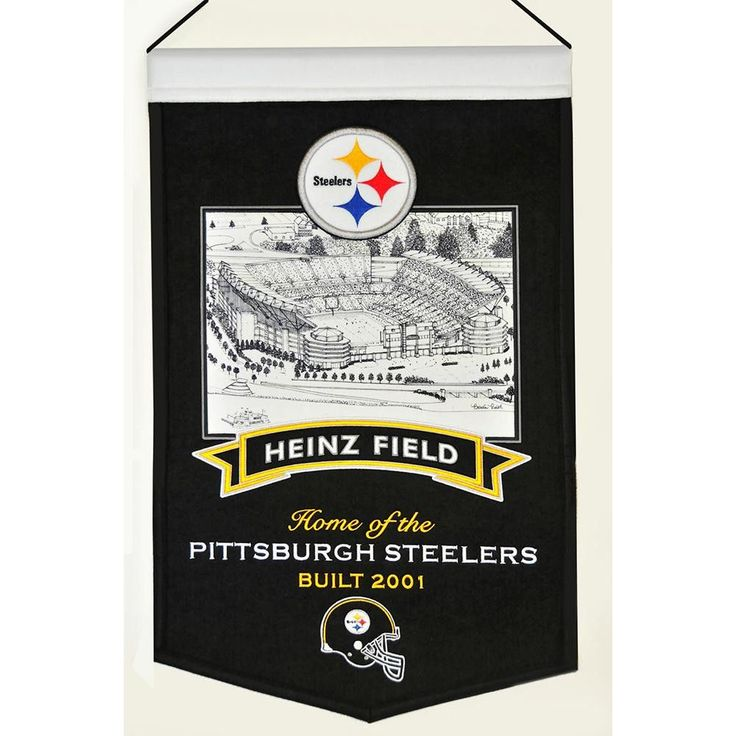 Pittsburgh Steelers NFL Heinz Field Stadium Stadium Banner (20x15)