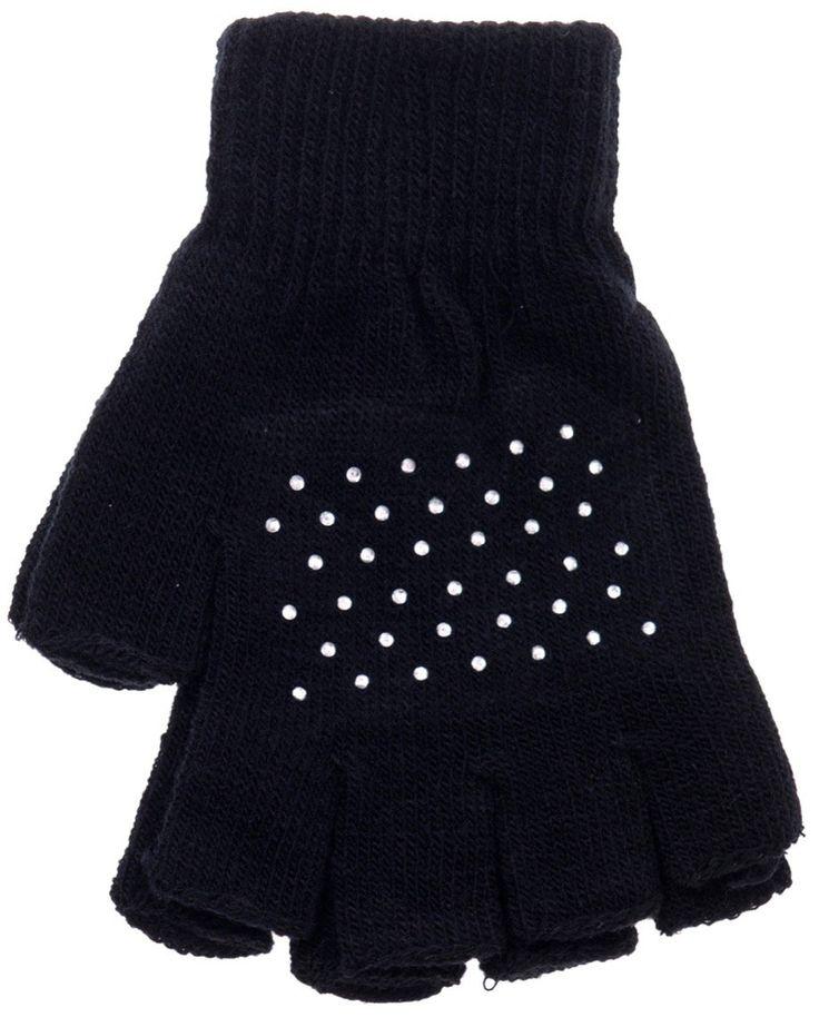 ΑΖ πλεκτά νεανικά γάντια «Half» Κωδικός: 18103  €2,00