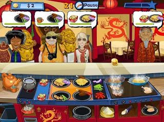 Happy Chef 2 - Fast and easy game to play. I possibly enjoyed the first Happy Chef more...