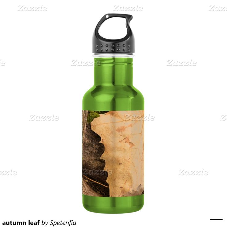 autumn leaf 532 ml water bottle