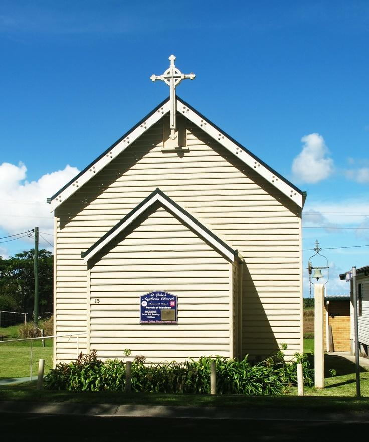 A cute little church in Chatsworth Island near Maclean.