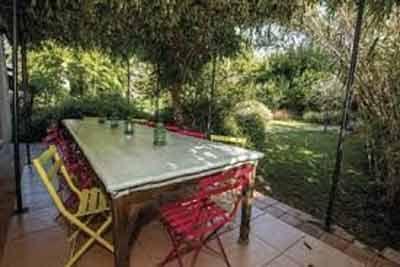 Table d'hôtes de Chambres d'hôtes, yourtes, cabane à vendre à 10mn des Gorges de l'Ardèche dans le Gard