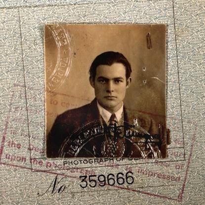 ernest hemingway 1923 passport