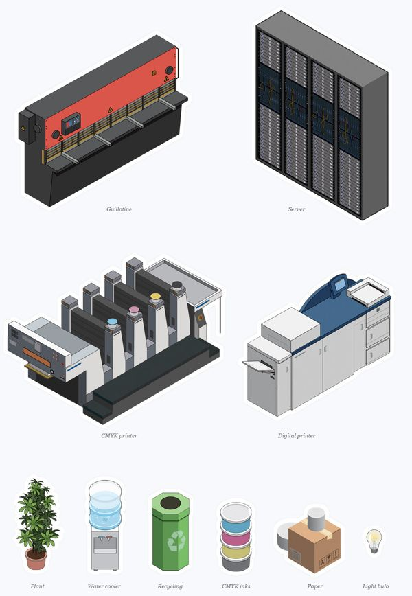 Office Building by Tim Smith, via Behance