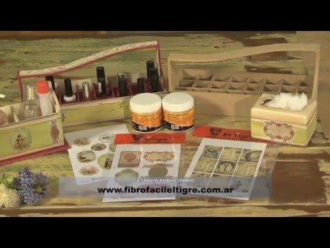 Tecnicas de Pintura - Craquelado - Flotado - Decoupage - Fibrofacil - YouTube