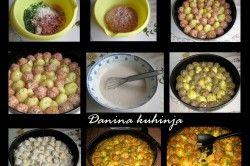 I vy máte rádi vaření nebo pečení v jednom hrnci bez zbytečně zašpiněného nádobí? Toto hlavní jídlo je pečené v jednom pekáči. Střídavě pokladete mini karbanátky s malými bramborami a zapečete v troubě. Omáčka je ze zakysané smetany, rajského protlaku a smetany na vaření. Masíčko zůstane šťavnaté, brambory budou měkkoučké a spolu s omáčkou to je opravdu chutné hlavní jídlo, které bude určitě chutnat každému.