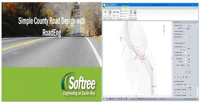 Roadeng Civil Engineer Is One Of The Best Road Design Software Useful For Designing Roads And Corridors Civil Engineering Corridor Design Engineering Design
