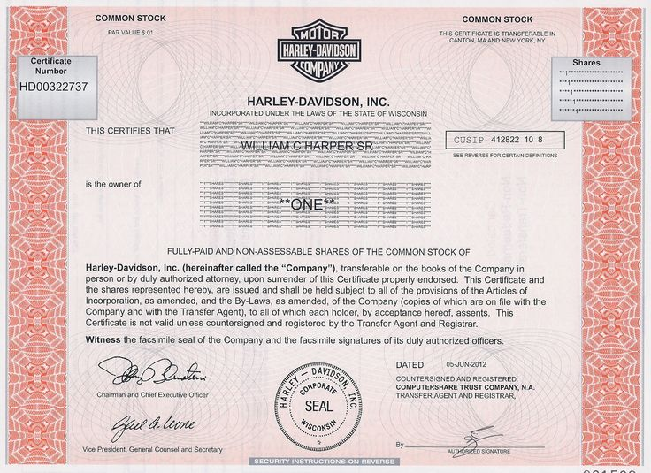 Printable stock certificates 11 best stock certificate template the 25 best harley davidson stock ideas on pinterest harley printable stock certificates yelopaper Image collections